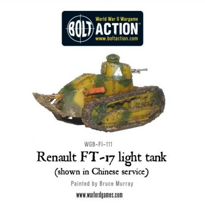 French Renault FT-17 light tank 6
