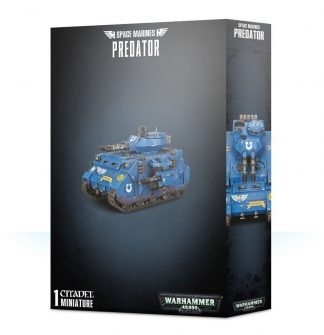 Space Marine Predator 1