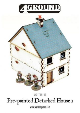 Pre-painted Detached Terrace House 1