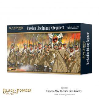 Crimean War Russian Line Infantry 1