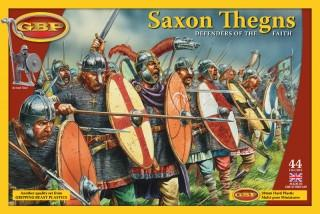 Dark Ages Saxon Thegns plastic boxed set 1