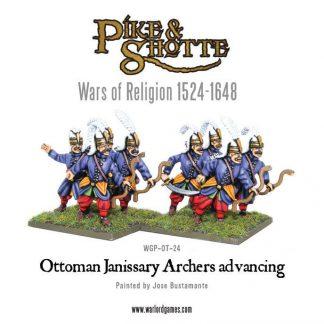 Ottoman Janissary Archers advancing 1