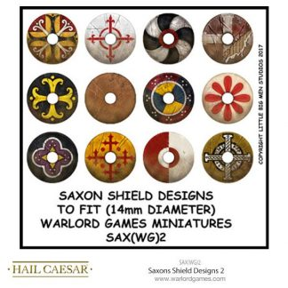 Saxons Shield Designs 2 (small round) 1
