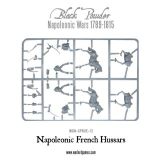 Napoleonic French Hussars Plastic Frame 1