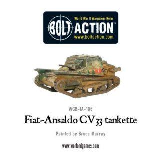 Fiat-Ansaldo CV33 tankette 1