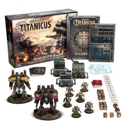 (last chance) Adeptus Titanicus: Grand Master Edition 2