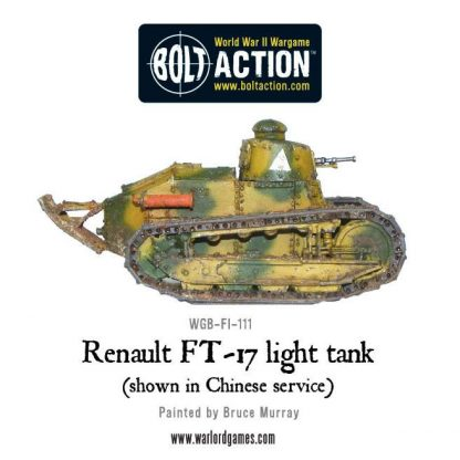 French Renault FT-17 light tank 4