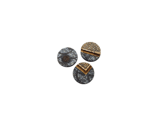Cobblestone Bases, Round 50mm (2) 1