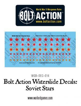 Soviet Stars decal sheet 1
