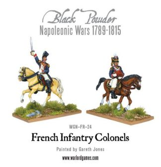 Mounted French Colonels 1
