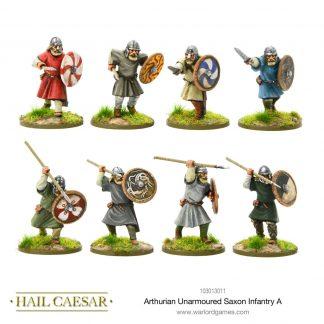 Arthurian Unarmoured Saxon Infantry A 1