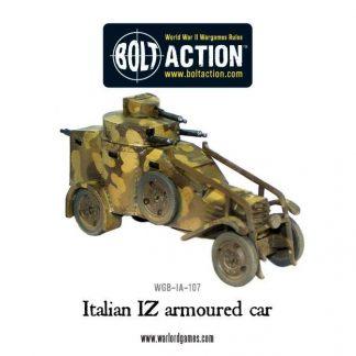 Italian IZ armoured car 1