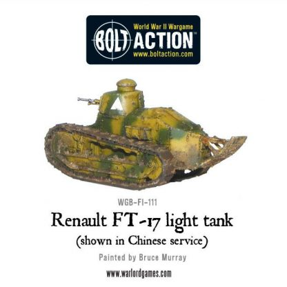 French Renault FT-17 light tank 5