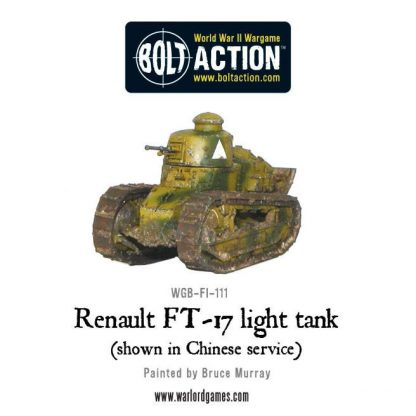 French Renault FT-17 light tank 1
