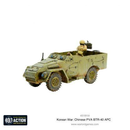 Korean War: Chinese PVA BTR-40 APC 2