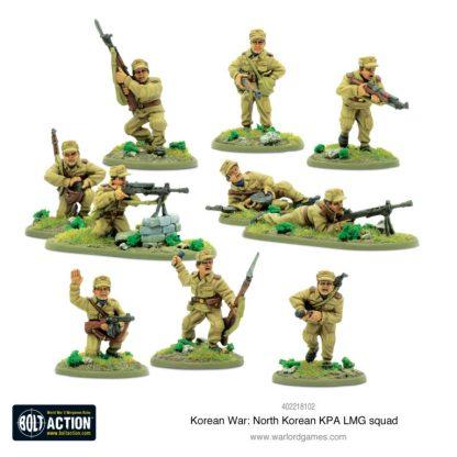 North Korean KPA LMG Squad 1