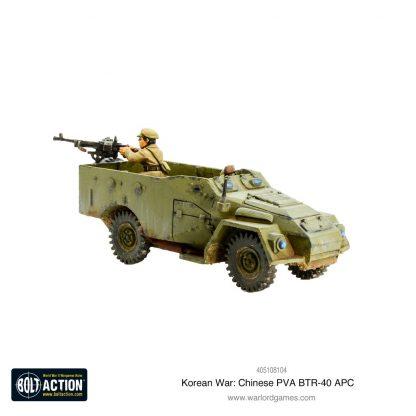 Korean War: Chinese PVA BTR-40 APC 1