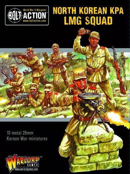 North Korean KPA LMG Squad 2