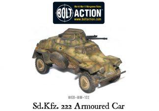 German Sd.kfz 222 Armoured Car 1