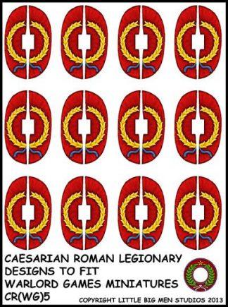 Caesarian Roman shield design 5 1