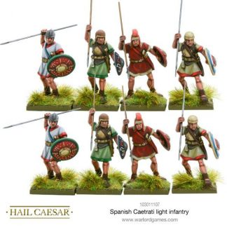 Spanish Caetrati light infantry 1