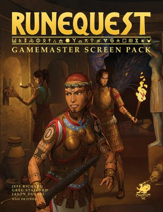 RuneQuest RPG: Roleplaying in Glorantha Gamemaster Screen Pack 1