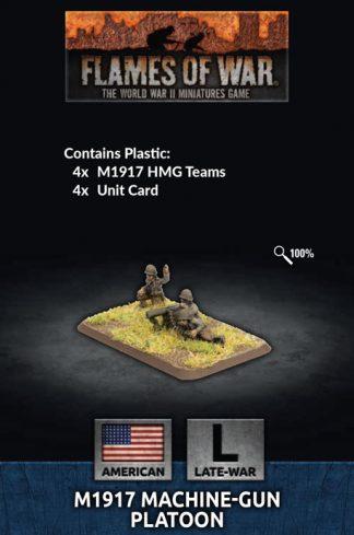 US M1917 Machine-gun Platoon 1