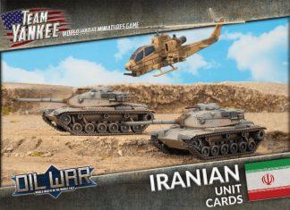 Iranian Unit Cards 1
