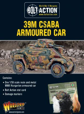 39M Csaba Armoured Car 1