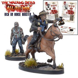 The Walking Dead: Rick on Horse 1