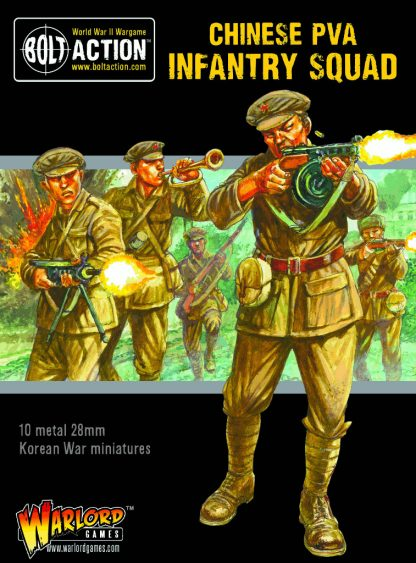 Korean War: Chinese PVA Infantry Squad 1