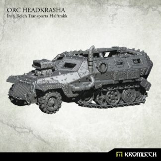Orc Headkrasha, Iron Reich Transporta Halftrakk (1) 1
