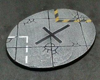 Concrete: 120mm Oval Flyer Base (1) 1