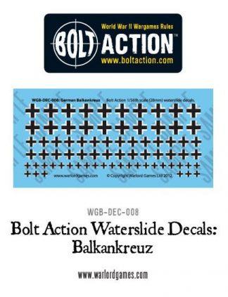 German Balkenkreuz decal sheet 1