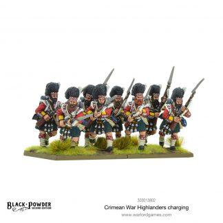 Crimean War Highlanders charging 1