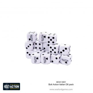 Italian D6 dice pack 1