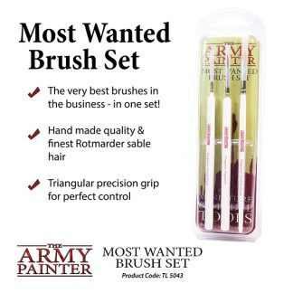 Most Wanted Brush Set 1