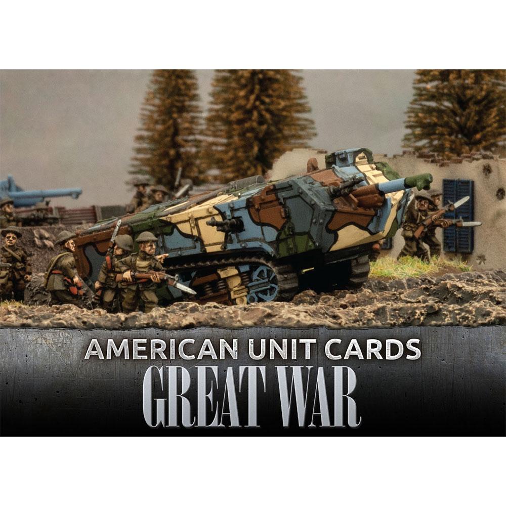 Great War: American Unit Cards