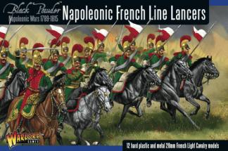 Napoleonic French Line Lancers 1