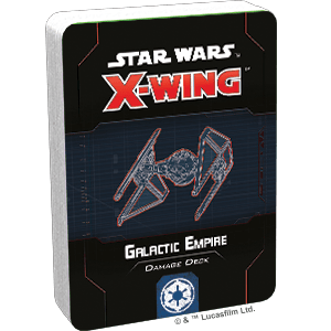 Star Wars X-Wing: Galactic Empire Damage Deck 1