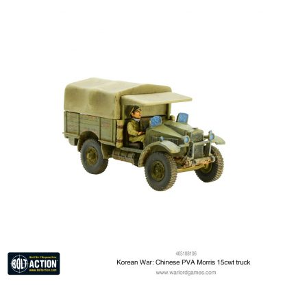 Korean War: Chinese PVA Morris 15cwt truck 1