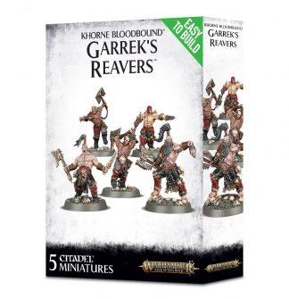 Khorne Bloodbound Garrek's Reavers 1
