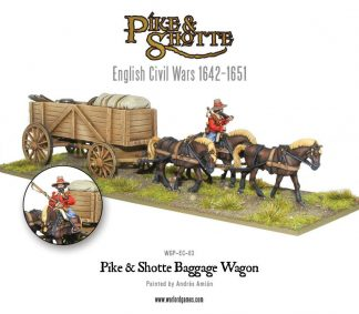 Pike & Shotte Baggage Wagon 1