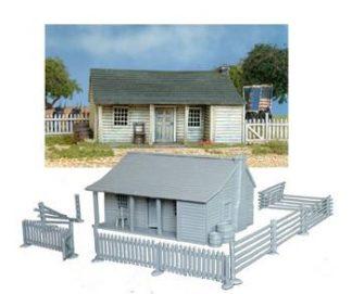 North American Farmhouse 1750-1900 1