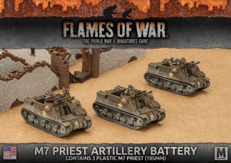 M7 Priest Armored Artillery Battery (3x Plastic) 1
