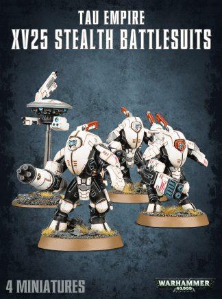 T'au XV25 Stealth Battlesuits 1