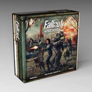 Fallout: Wasteland Warfare Two Player Starter Set 1