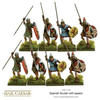 Spanish Scutari with spears 1
