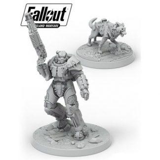 Fallout: Wasteland Warfare X-01 Survivor & DogMeat 1
