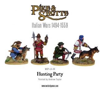 Landsknechts Hunting party 1